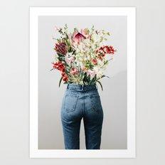 Bottomless Bouquet Art Print