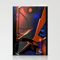 basketball Stationery Cards featuring Basketball by Tami Cudahy
