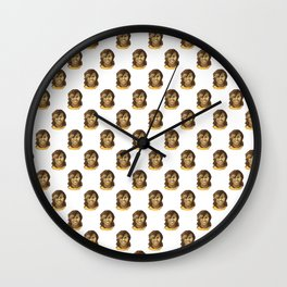 Michelle (white background) Wall Clock