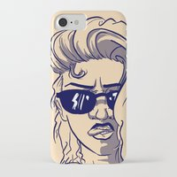 emily rickard iPhone & iPod Cases featuring Emily by Nunyah Bidness