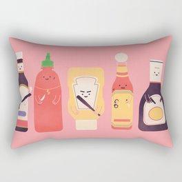 Ex-Condiments Rectangular Pillow
