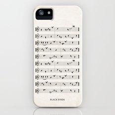 Black Birds Slim Case iPhone (5, 5s)