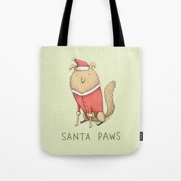Santa Paws Tote Bag