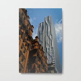 Gehry Skyscraper Metal Print