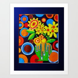 Untitled 61 by Anthony Davais Art Print