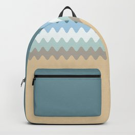Beach Color Combo Backpack