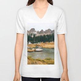 Gore Range – Rocky Mountains Unisex V-Neck