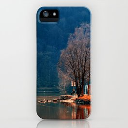 Gone fishing | waterscape photography iPhone Case