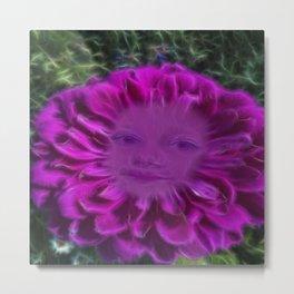 Let flowers speak Metal Print