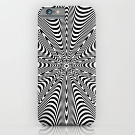 Hypnotic star iPhone Case