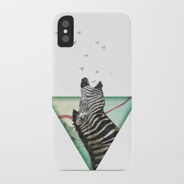 roaring silence iPhone Case