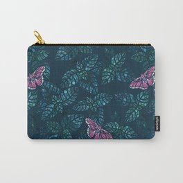 Mint fields Carry-All Pouch