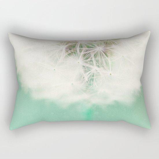 Dandelion Seed Rectangular Pillow
