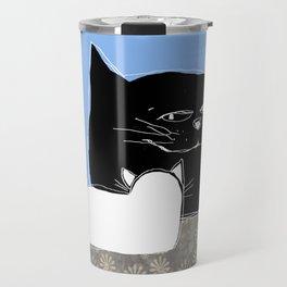 Frisky the Cat Travel Mug