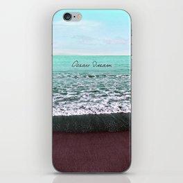 OCEAN DREAM VI iPhone Skin