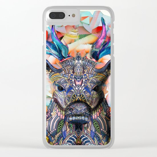 Unconfined Clear iPhone Case