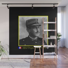 Aaron Gerschel- Portrait of Alfred Dreyfus Wall Mural