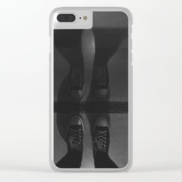 Sneaker Reflection Clear iPhone Case