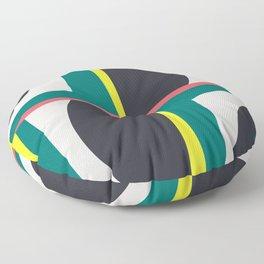 Modern Geometric 65 Green Floor Pillow