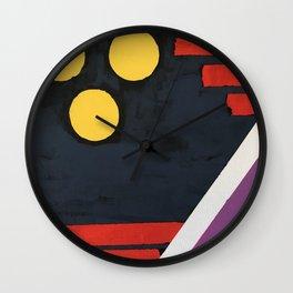 Arrakkis Wall Clock