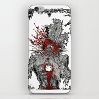 mad hatter iPhone & iPod Skins featuring Mad Hatter by Mongolizer