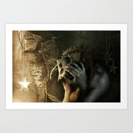 Even if I have to tear my world apart... Art Print
