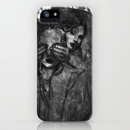 We against the world iPhone Case