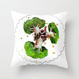 The Little Prince: Beware of Baobabs Throw Pillow