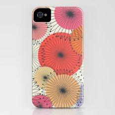 Spiral Flowers iPhone (4, 4s) Slim Case