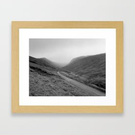 GLENGESH PASS - Ireland, Donegal  (RR56) Framed Art Print