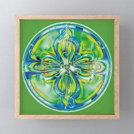 Mandalas of Healing and Awakening 6 Framed Mini Art Print