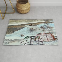 Crab Cages and The Cove Rug