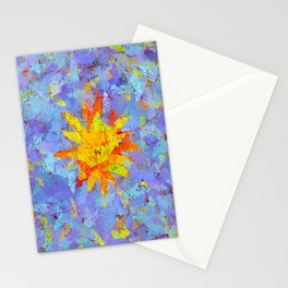 Crinkled Sunshine Stationery Cards