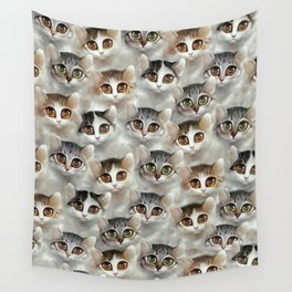 Kittens Wall Tapestry