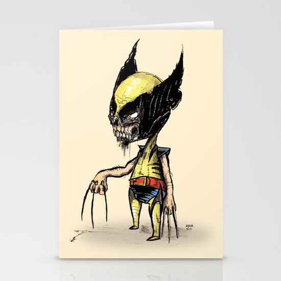 Zomberine Stationery Cards