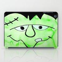 frankenstein iPad Cases featuring Frankenstein by HollyJonesEcu