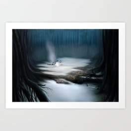 Swamps of Dagobah Art Print
