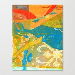 Tricolor Canvas Print