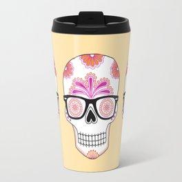 sugar skull #bonethug Travel Mug