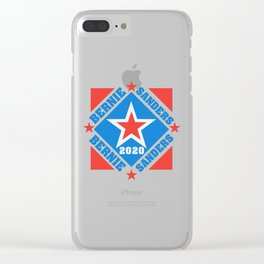 Bernie Sanders 2020 Vote for President Clear iPhone Case