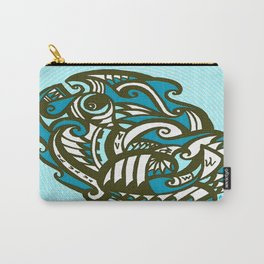 Tribal Seashell Carry-All Pouch