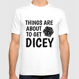 Gamer Dice Dungeon RPG Tabletop funny gift T-shirt