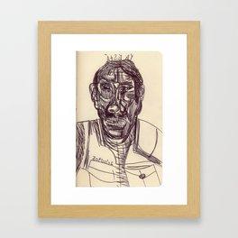 20100405 _YA ESTÁ Framed Art Print