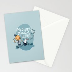 Mr Jones' Magical School Stationery Cards