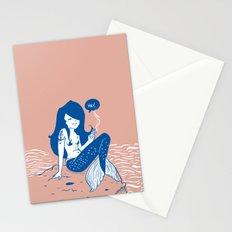 Vampire Mermaid Stationery Cards
