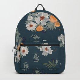Orange Groves-Teal Backpack