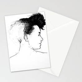 Quiff Stationery Cards