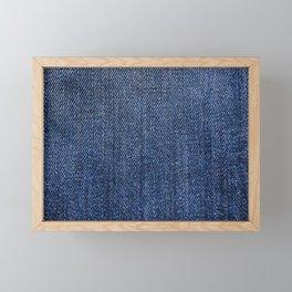 Blue Jeans Framed Mini Art Print