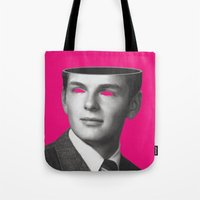 anarchy Tote Bags featuring Anarchy by Cale potts Art