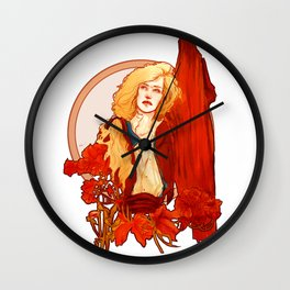 Capable Of Being Terrible Wall Clock